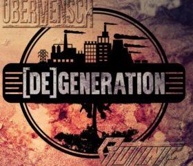 ÜBERMENSCH / BLUTLINIE - [DE]GENERATION - DOPPEL LP