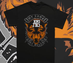 ANTHRAZIT - MY LAND / MY RULES - SHIRT