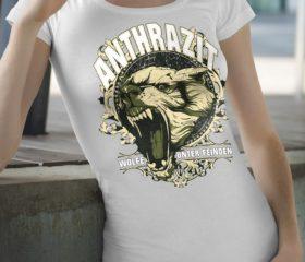 ANTHRAZIT - WÖLFE UNTER FEINDEN - GIRLIE