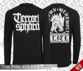 T(ERROR)SPHÄRA – BEATDOWN WEHRWOLF – SWEATSHIRT