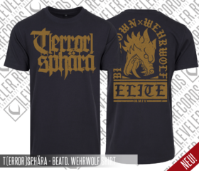 T(ERROR)SPHÄRA – BEATDOWN WEHRWOLF ELITE – SHIRT