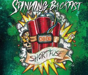 SPINNING BACKFIST - SHORT FUSE - MP3 ALBUM