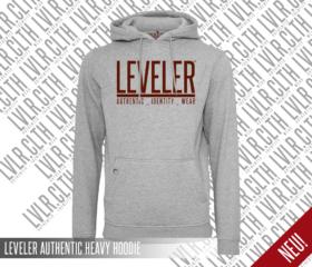 LEVELER AUTHENTIC HEAVY HOODIE