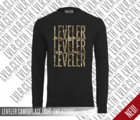 LEVELER CAMOUFLAGE LIGHT SWEATSHIRT